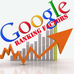 What factors matter in ranking on Google