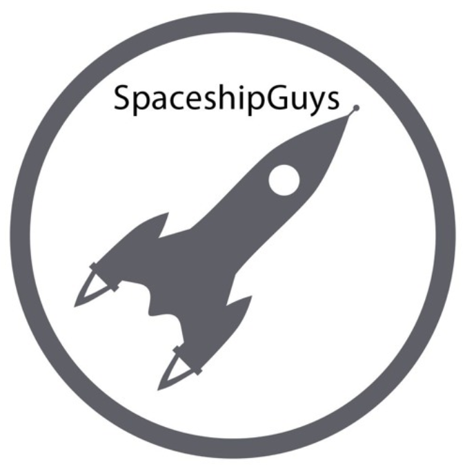 Spaceship Guys Rusty J & Shelby B. Craft
